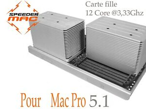  CPU Tray 12 Core for Mac Pro 4.1& 5.1 2009 to 2012  32/64/96/128 GB
