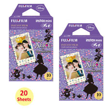 Fujifilm Instax Mini Disney Alice 20 Film Sheets For Instant 7s 8 9 70 50s SP-2