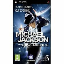 PSP Playstation Portable gioco Michael Jackson-The Experience gioco di ballo NUOVO