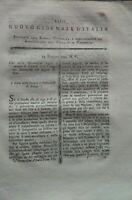1795 RIVISTA CON GUIDA PER I VIAGGI DEI NATURALISTI E IRRITABILITA' DEI VEGETALI