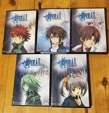 Spiral Lot of 5 Anime DVD Like New Condition with inserts!  Free Shipping