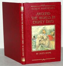 Around To The World In Eighty Days - Jules Verne, HB, Fabbri 1992
