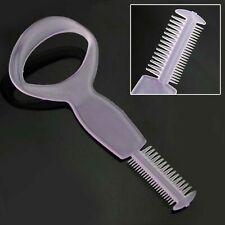 Plastic Make Up Tool Eye Mascara Eyelash Comb Applicator Guide Card Tool