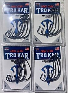 Lazer Trokar TK120 MagWorm   Hook - Choose 3/0 - 6/0 Free Shipping
