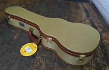 Kinsman Deluxe Tweed Tenor Ukulele Uke Hard Case With Key RRP £69.99