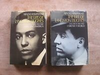 SIGNED - THE LIFE OF LANGSTON HUGHES by Arnold Rampersad - 1st HCDJ 1988 Oxford
