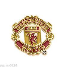 Manchester United FC Enamel Crest Pin Badge Brand New