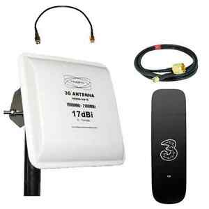 Mobile Broadband Antenna Aerial Booster 3G UMTS HSPA Huawei E353 1GB SET