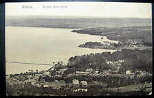 SWEDEN RATTVIK 1911 close up view homes by waterfront
