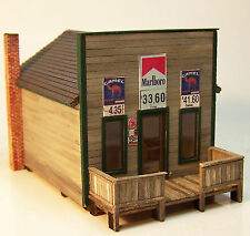 TOM'S COUNTRY STORE HO HOn3 Model Railroad Structure Wood Laser Kit RSL2038