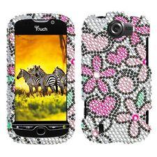 Fantastic Flowers Bling Case Cover HTC myTouch 4G Slide