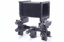 SINAR 4X5 P2 VIEW CAMERA. METERING BACK, GROUND GLASS, TRIPOD CLAMP, FLIGHT CASE