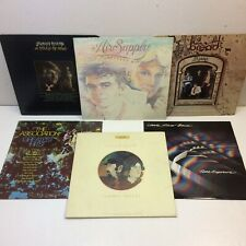 Lot of 6‼ SOFT ROCK LP's • Johnny Rivers•Bread•Little River Band•Seals Crofts ++