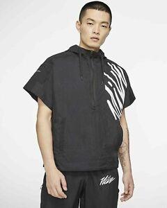 Nike Performance Light Weight 1/2 Zip Training Jacket Mens Size L CJ4627 010