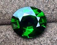 4.12ct Natural Mined Green Emerald Gems Emerald Cut VVS AAAAA+  Loose Gemstone
