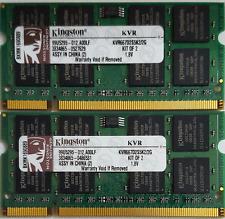 Kingston 4GB PC3-10600 SO-DIMM 1333MHz DDR3 SDRAM