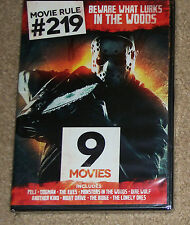 Movie Rule #219 Beware What Lurks in the Woods DVD 2-Disc New 9 Movies