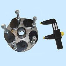 Typenspannflansch universall für Auswuchtmaschine mit 40mm Wuchtwelle