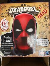 IN STOCK Marvel Legends 1/1 Talking DEADPOOL's Head Interactive Lifesize Replica