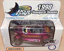 1998 TAMPA BAY DEVIL RAY 1ST SEASON MATCHBOX PROWLER CAR*NEW IN BOX BASEBALL TOY