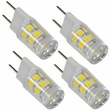 4-Pack G8 Bi-Pin 17 LEDs Light Bulb SMD 2835 for GE Over the Stove Microwave