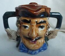 Vintage Toby Dick Turpin Sugar Bowl  Made In Japan