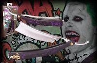 DC Comics Suicide Squad The Joker Switchblade Razor Prop Replica Letter Opener