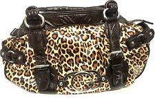 Guess Women's AMOR LEOPARD SATCHEL Small Handbag