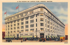 WINNIPEG MB CANADA 1944 The Hudson Bay Company Store VINTAGE CANADIAN 470