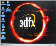 3DXF Voodoo Windows ME 98 95 Retro Gaming Computer Sound Blaster 16 ISA Slot NIC