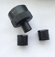 Sony Camera E NEX NEX3 NEX5 To 23.2mm Microscope tube w/ 30mm 30.5mm adapter