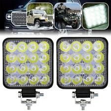 48W Car LED Work Lights Driving Light Spot Lamp ATV Offroad SUV Truck 12V 24V