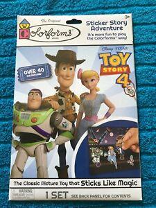 Colorforms Disney Pixar Toy Story 4 Sticker Story Adventure BRAND NEW