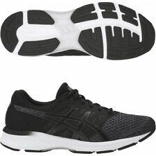 Asics Gel Exalt 4 Oscuro Gris/Negro/Blanco Malla Running Shoes Trainers Reino Unido 8.5