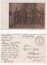 Stuttgart Feuerbach, Soldaten Königreich Württemberg Feldpost 1.Weltkrieg 1916