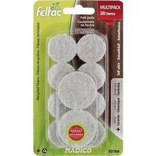 Madico 29-38mm Round Feltac Floor Protection Pads