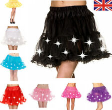 Ladies Tutu Cake Skirt Costumes With LED Light Up Neon For Party/Show/XMAS/Club