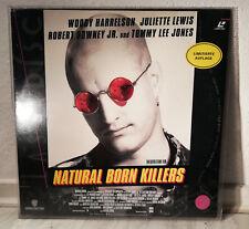Natural Born Killer (1994) von Oliver Stone - Laser Disc Limitierte 114 Minuten