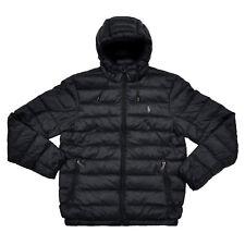 Polo Ralph Lauren Down Puffer Jacket Full Zip Pony Logo Packable Pocket New Nwt
