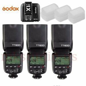 Godox TT600 2.4G Wireless Speedlite Flash + X1T-N Transmitter  for Nikon Kit
