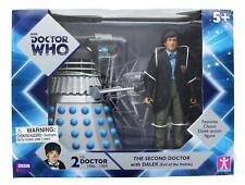 Doctor Who 2nd Doctor w/ Dalek 6 Inch Figure Set  - Evil of the Daleks