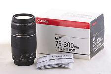 Lens Canon EF 75-300mm USM III for EOS 1200D 1100D 700D 650D 100D 70D 60D