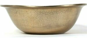 Cravings By Chrissy Teigen Hand Crafted 10 Inch Gold Colored Aluminum Bowl