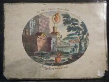 Images Pieuses Holy Card Santinio Parchemin 17 ou 18ème