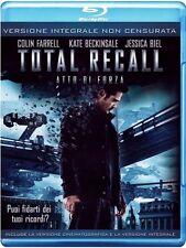 Blu Ray TOTAL RECALL Atto di Forza *** Versione Integrale non Censurata ***NUOVO
