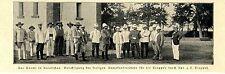 Kaumi Kiautschau China Kpt. Truppel Offiziere Unterkünfte für die Truppen 1902