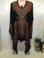 JOJO Designer Brand Cotton Blend Cape Kaftan 1 size  fits all
