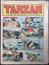 TARZAN Éditions Mondiales n°233 du 10 mars 1951 Bon état non découpé