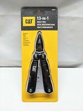 Cat Multi-Tool Caterpillar 980021 Black Multi-Function Tool 13-in-1 Great Backup