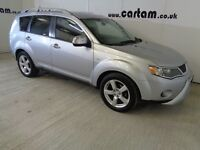 2008 Mitsubishi Outlander II 2.0 Di-D Warrior 7 Seater Leather AirCon HPi Clear